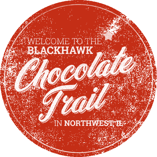 Welcome to the Blackhawk Chocolate Trail in Northwest IL